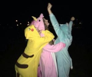 friends, unicorn, and grunge image
