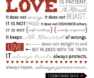 bible and love image
