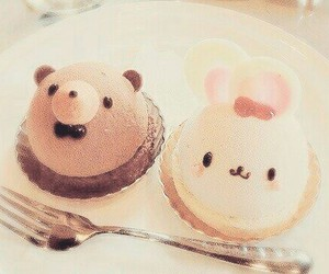 food, kawaii, and bear image