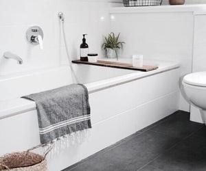 interior, bathroom, and home image