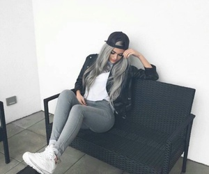 style, hair, and outfit image