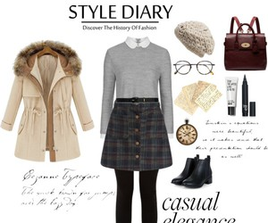 outfit, vintage, and Polyvore image