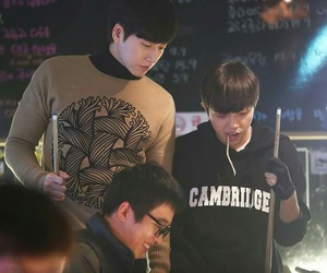actor, kdrama, and cheese in the trap image