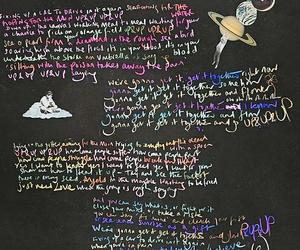 coldplay and Lyrics image