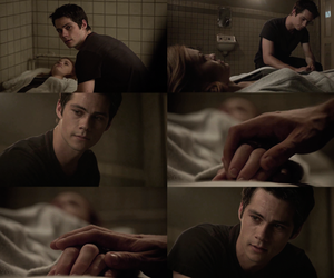 couple, teen wolf, and stiles image