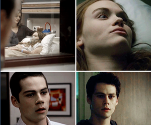 couple, hospital, and teen wolf image
