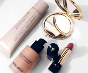 makeup, beauty, and Giorgio Armani image