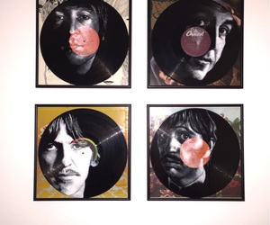 acrylic, art, and black image