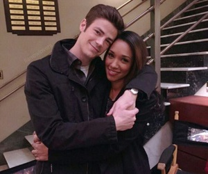 grant gustin and candice patton image