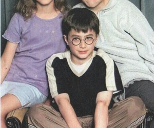 harry potter, emma watson, and daniel radcliffe image