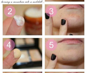 makeup, tips, and concealer image