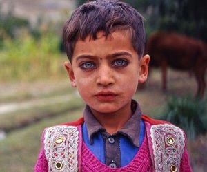 boy, blue eyes, and child image