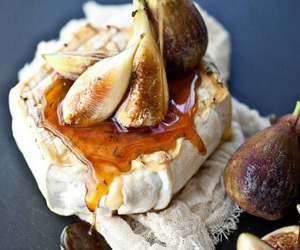 brie, figs, and food porn image