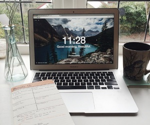 books, class, and morning image