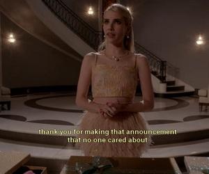 scream queens, emma roberts, and meme image