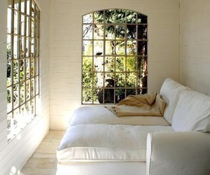 white, window, and house image
