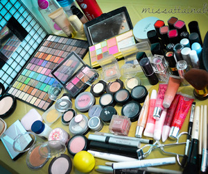 beauty, colors, and make-up image