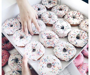 doughnuts, morning, and food image