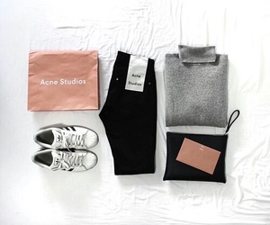 fashion, outfit, and acne studios image