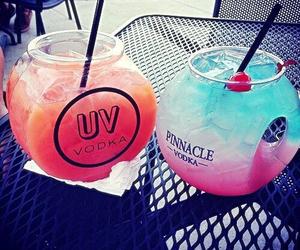 drink, vodka, and summer image