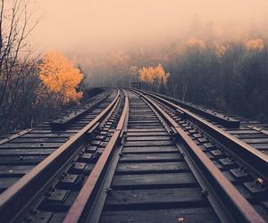 train and tree image