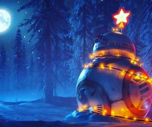christmas and bb8 image