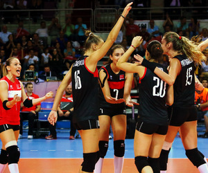 volley, volleyball, and volei image