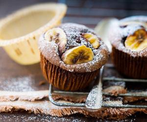 bananas, break, and cake image