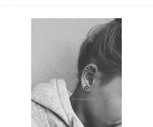 beautiful, piercing, and obsession image