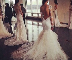 backless, brunette, and white image
