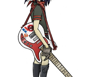 gorillaz and noodle image