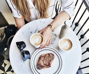 coffee, food, and sunglasses image