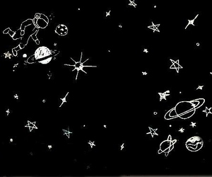 beautiful, planets, and stars image