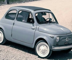500, fiat, and car image