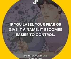control, deep, and fear image