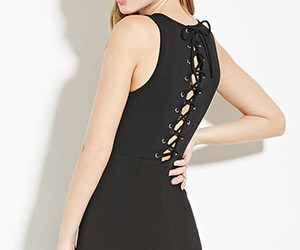 black, fashion, and forever 21 image
