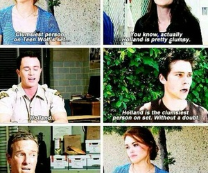 teen wolf, parrish, and holland roden image