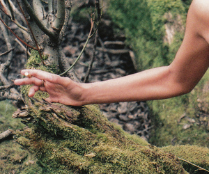 35mm, forest, and girl image