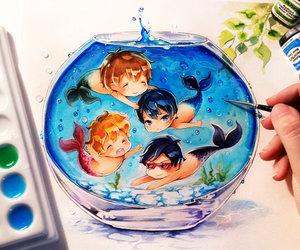 anime, free, and art image