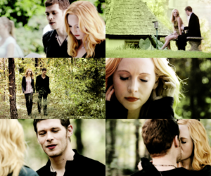 the vampire diaries and klaroline image