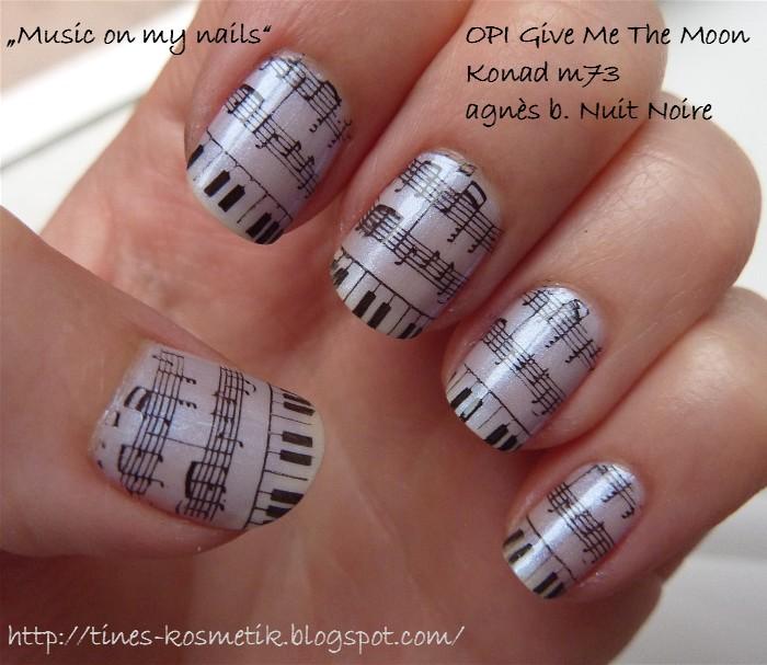art, musik, and nail image