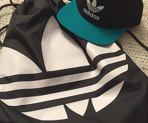 adidas, brand, and cap image