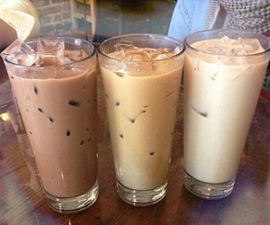 drink, coffee, and brown image
