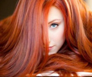 copper, hairstyle, and redheaded image