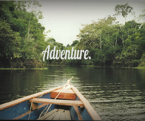 adventure, travel, and boat image