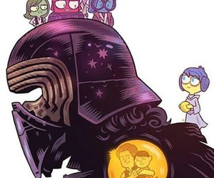 star wars, kylo ren, and inside out image