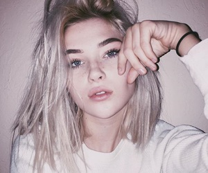 eyebrows, grunge, and hands image