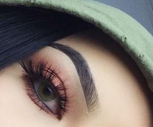 beautiful, eye, and fashion image