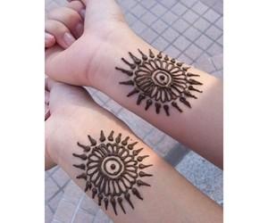 tattoo, henna, and tumblr image