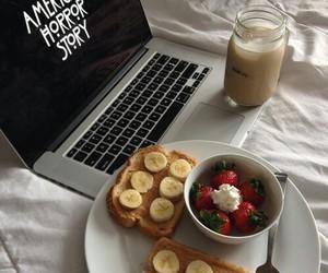 food, american horror story, and banana image